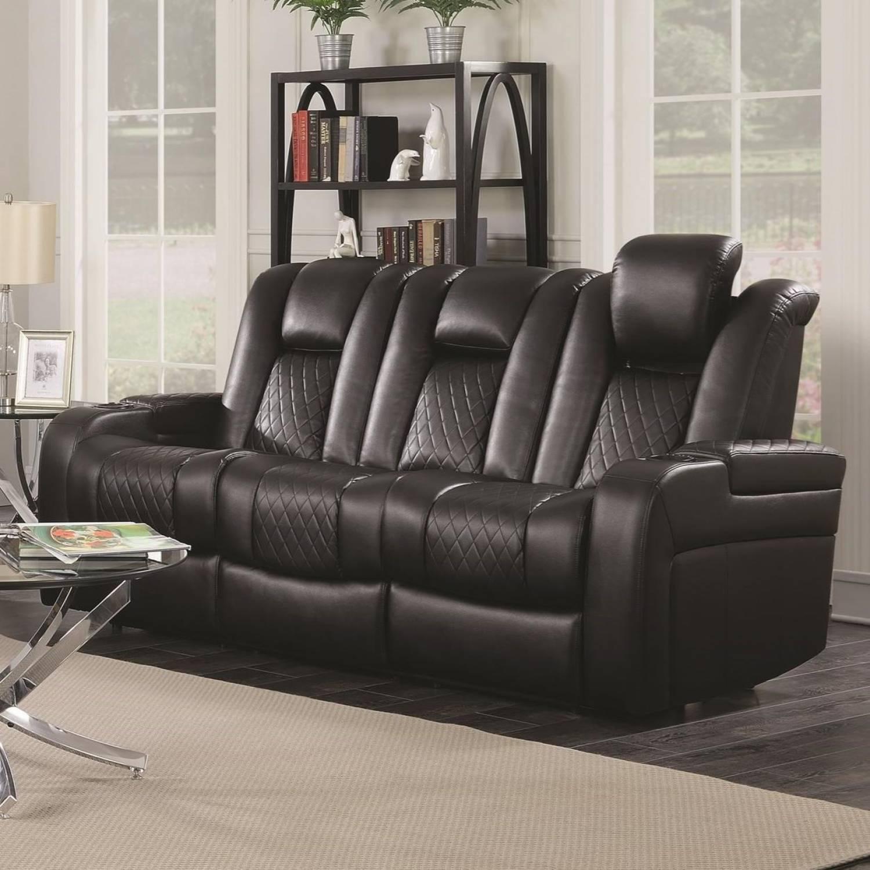 Delangelo Casual Reclining Sofa