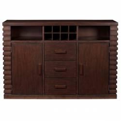 6084 Alpine Furniture 6084-06 Trulinea Sideboard Dark Espresso Finish