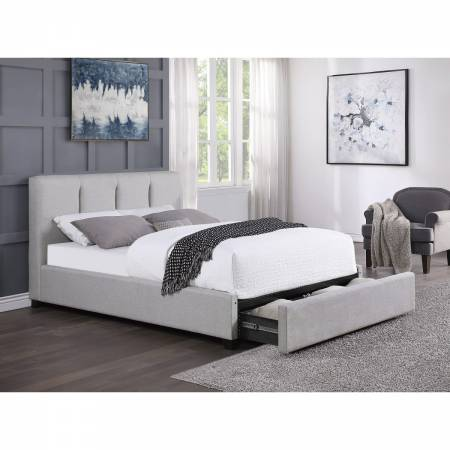 1632K-1CKDW* California King Platform Bed with Storage Drawer