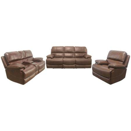 609437PP-S2 2PC SETS POWER2 SOFA + POWER2 LOVESEAT W/ CONSOLE
