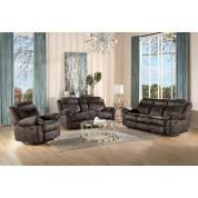 55020+55021+55022 3PC SETS Zubaida Sofa + Loveseat + Glider Recliner