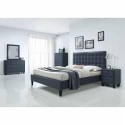 25660Q-4PC 4PC SETS Saveria 25660Q Queen Bed
