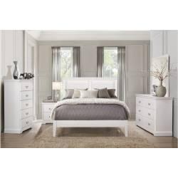 1519WHF-1Gr Full Bedroom Set 4PC Seabright