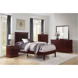 1519CHT-1TGr Twin Bedroom Seabright