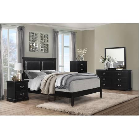 1519BKF-1Gr Full Bed Bedroom Seabright