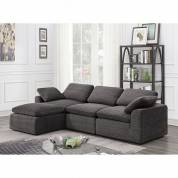CM6974GY-4SEAT JOEL SECTIONAL