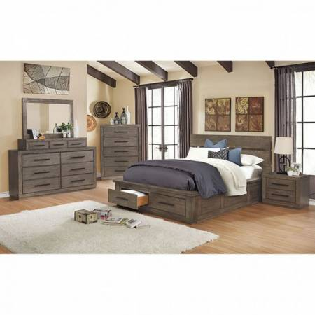 CM7047GY-CK-4PC 4PC SETS OAKES Cal.King BED