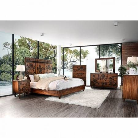 CM7362-Q-4PC 4PC SETS AMARANTHA Queen BED