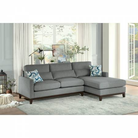 9890GY*SC 2-Piece Sectional with Right Chaise Greerman