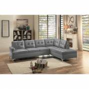 8378GRY* 2-Piece Sectional with Right Chaise Barrington