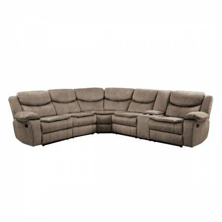 8230FBR*SC 3-Piece Sectional with Right Console Bastrop