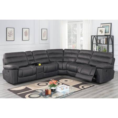 F86617 Power Motion Sectional