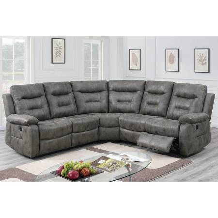 F86607 Power Motion Sectional