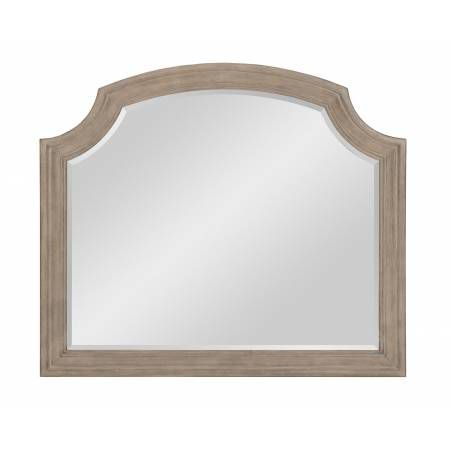1688-6 Grayling Downs Mirror - Driftwood Gray