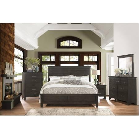 1675F-Gr Blaire Farm Full Bedroom Set - Espresso