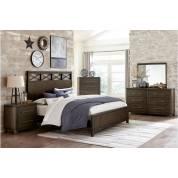 1669K-CKGr Griggs California King Bedroom Set - Espresso