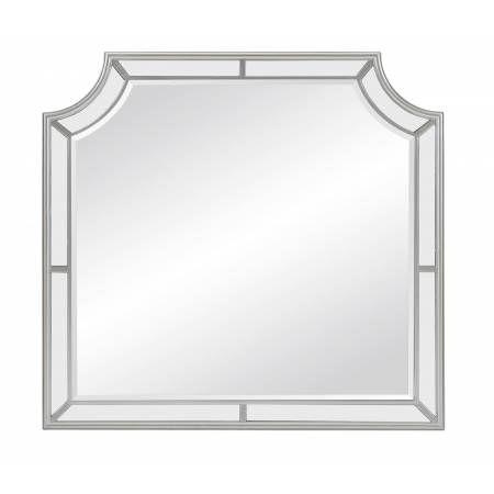 1646-6 Avondale Mirror - Silver