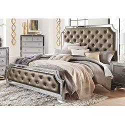 1646-1 Avondale Queen Bed - Silver