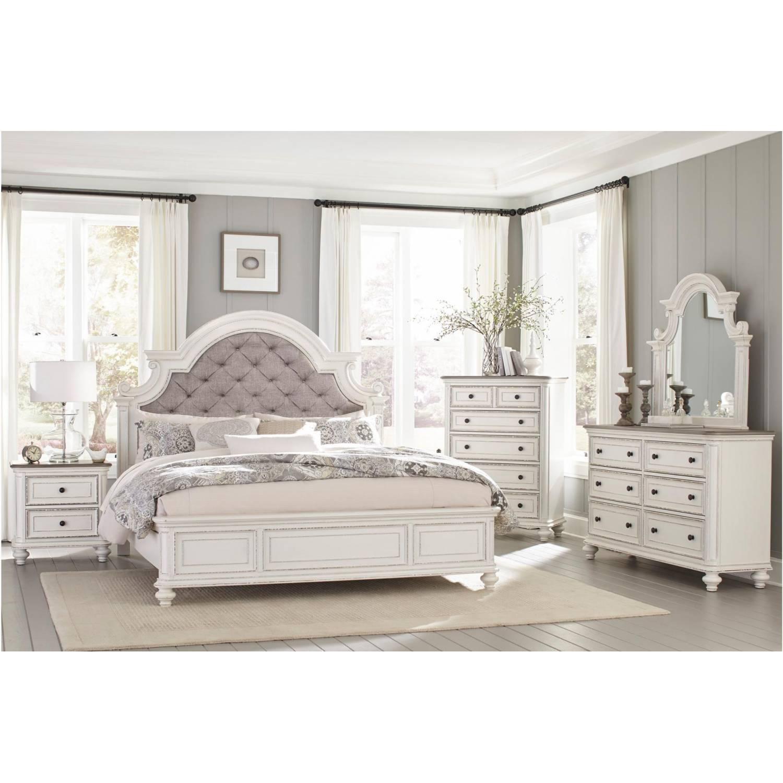 1624kw Ckgr Baylesford California King Bedroom Set Antique