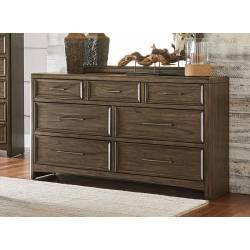 1619-5 Seldovia Dresser - Brown Gray