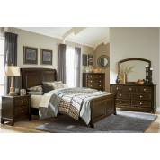1615K-EKGr Eastern King Bedroom Set - Cherry Fostoria