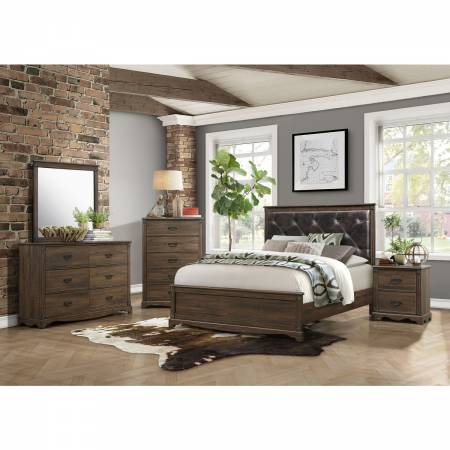 1609K-EKGr Eastern King Bedroom Set Beaver Creek