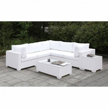 CM-OS2128WH-SET11 SOMANI II L-SECTIONAL + COFFEE TABLE