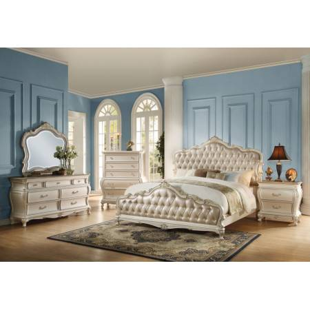 23534CK-4PC 4PC SETS CHANTELLE CAL.KING BED