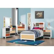 Dallas Furniture Store - Bedroom FULL 4PC SET (F.BED,NS,DR,MR) 400791F-S4
