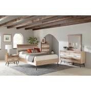 215761KE-S4 4PC SETS Marlow Eastern King Bed + Nightstand + Dresser + Mirror