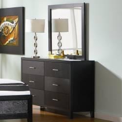 21653+201654 Grove Dresser and Mirror Set