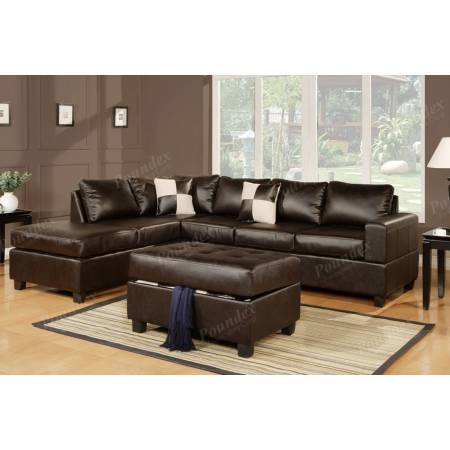 F7351 Sectional w/ Ottoman