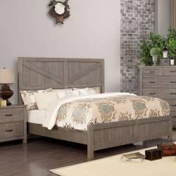 BRENNA Queen Bed CM7435GY-Q