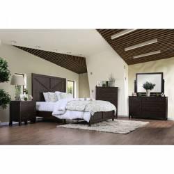 BRENNA Queen Bedroom Set CM7435EX-Q-GR