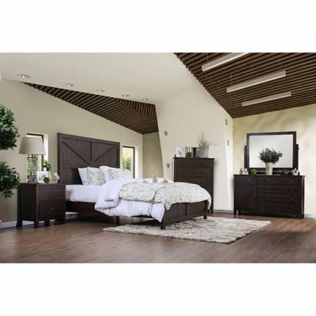 BRENNA E.King Bedroom Set CM7435EX-EK-GR