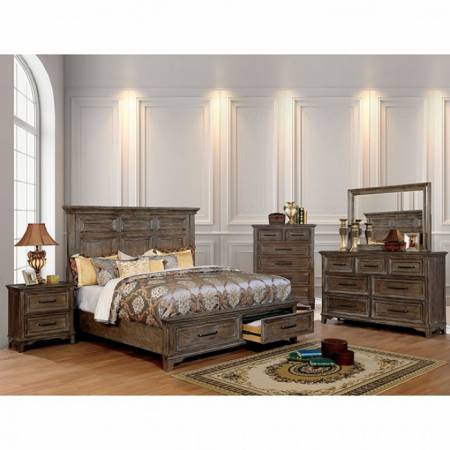 OBERON Queen Bedroom Set CM7845Q-GR