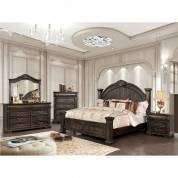 GENEVIEVE Cal.King Bedroom Set CM7428KW-GR
