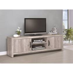 TV Stands Modern TV Console with Grey Finish 701025