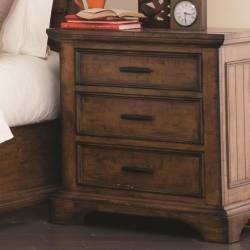 Elk Grove Night Stand with Wire Cord