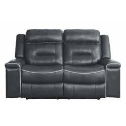 9999DG Darwan Double Lay Flat Reclining Love Seat