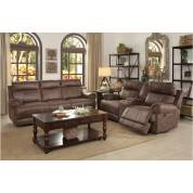 9911DBR Aggiano POWER 2PC SET: SOFA, LOVE