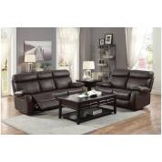8326BRW Pendu 3PC SET: SOFA, LOVE, CHAIR