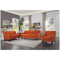 1218RN Roweena 3PC SET: SOFA, LOVE, CHAIR