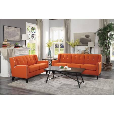 1218RN Roweena 2PC SET: SOFA, LOVE