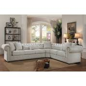 SAVONBURG Sectional Sofa - Neutral Fabric
