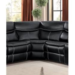 BASTROP Corner Seat Black