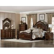 CATALONIA Group 4 Pc Bedroom set Cherry