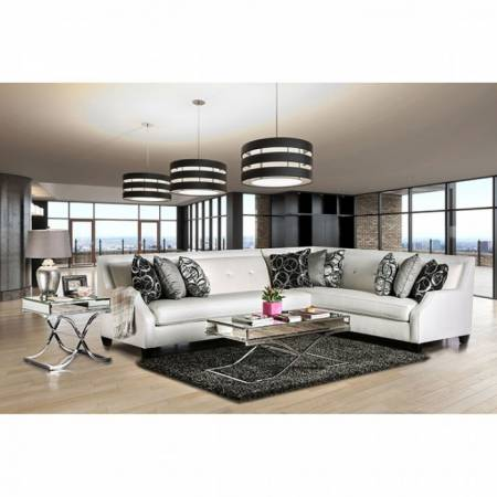 BETRIA SECTIONAL Off-White