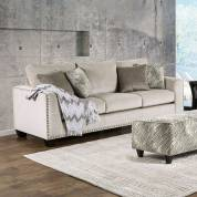 STEFANO 2PC SETS SOFA + LOVE SEAT Light Mocha