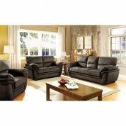JAYA 2PC SETS SOFA + LOVE SEAT Dark Brown